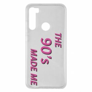 Etui na Xiaomi Redmi Note 8 The 90's made me