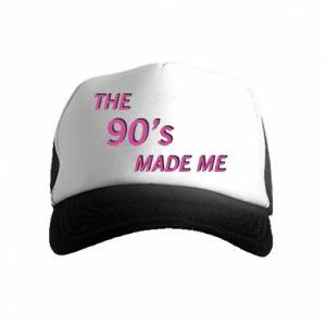 Czapka trucker dziecięca The 90's made me