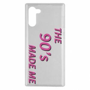 Etui na Samsung Note 10 The 90's made me
