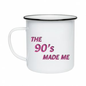 Kubek emaliowany The 90's made me