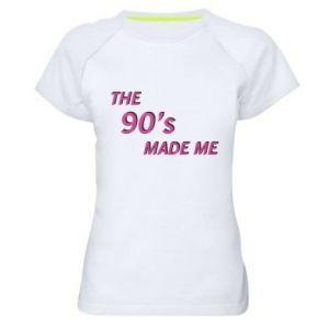 Koszulka sportowa damska The 90's made me