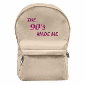 Plecak z przednią kieszenią The 90's made me