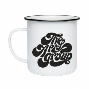 Kubek emaliowany The art group