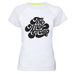 Koszulka sportowa damska The art group