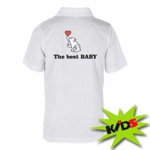 Koszulka polo dziecięca The best baby