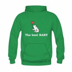 Bluza z kapturem dziecięca The best baby