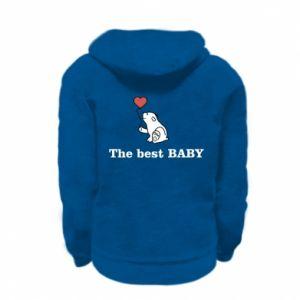 Bluza na zamek dziecięca The best baby