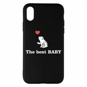 Etui na iPhone X/Xs The best baby