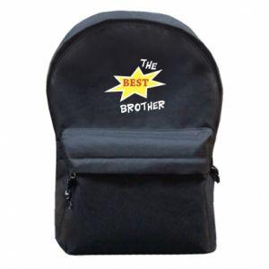 Plecak z przednią kieszenią The best brother