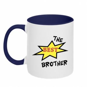 Two-toned mug The best brother