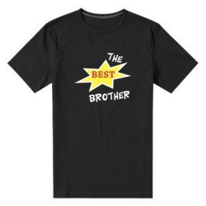 Men's premium t-shirt The best brother