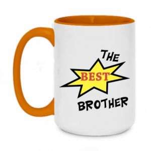 Kubek dwukolorowy 450ml The best brother