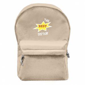 Plecak z przednią kieszenią The best sister