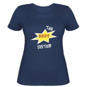 Damska koszulka The best sister