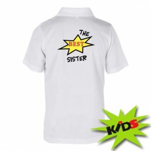 Koszulka polo dziecięca The best sister