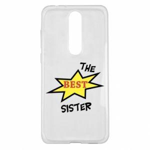 Etui na Nokia 5.1 Plus The best sister