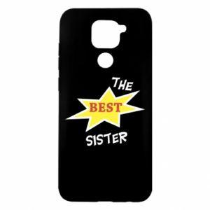 Etui na Xiaomi Redmi Note 9/Redmi 10X The best sister