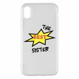 Etui na iPhone X/Xs The best sister