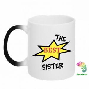 Chameleon mugs The best sister