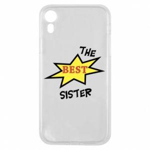 Etui na iPhone XR The best sister