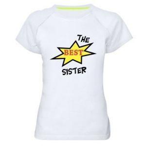Koszulka sportowa damska The best sister