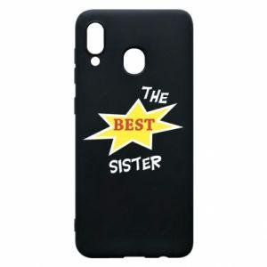 Etui na Samsung A20 The best sister