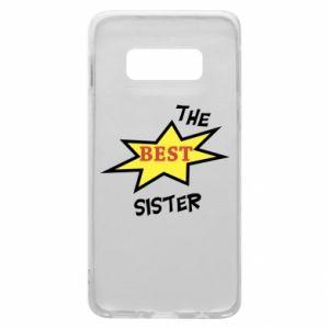 Etui na Samsung S10e The best sister