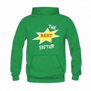 Bluza z kapturem dziecięca The best sister