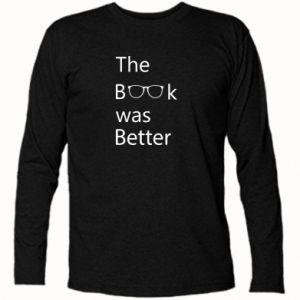 Koszulka z długim rękawem The book was better