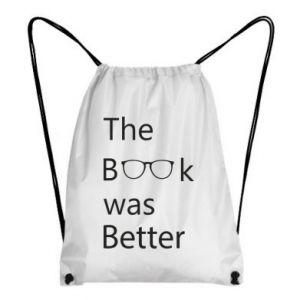 Plecak-worek The book was better