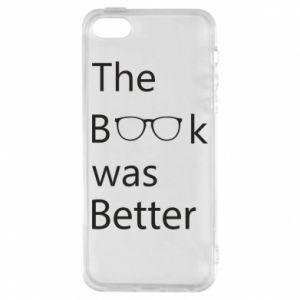 Etui na iPhone 5/5S/SE The book was better