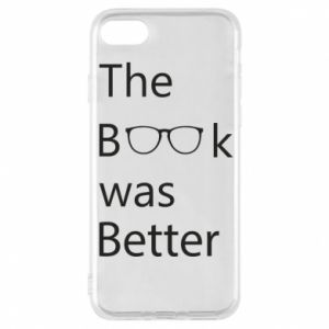 Etui na iPhone 8 The book was better