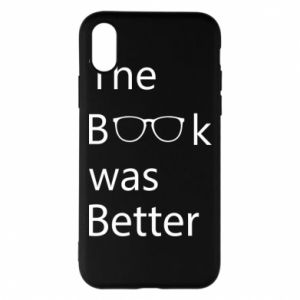 Etui na iPhone X/Xs The book was better