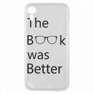 Etui na iPhone XR The book was better