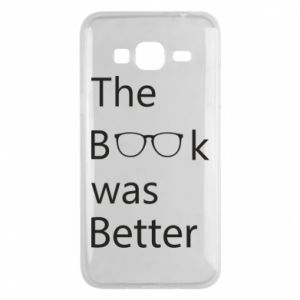 Etui na Samsung J3 2016 The book was better