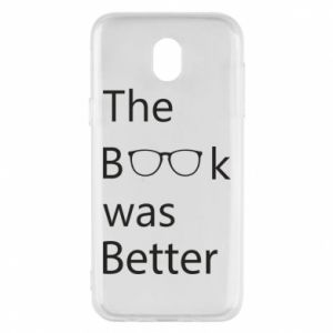 Etui na Samsung J5 2017 The book was better
