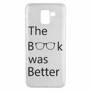 Etui na Samsung J6 The book was better