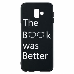 Etui na Samsung J6 Plus 2018 The book was better