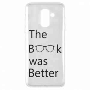 Etui na Samsung A6+ 2018 The book was better