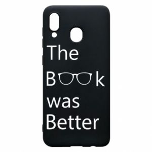 Etui na Samsung A30 The book was better