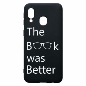 Etui na Samsung A40 The book was better