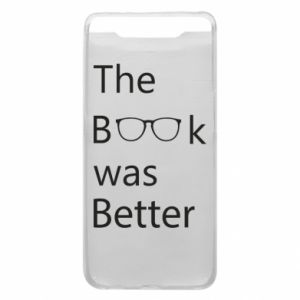 Etui na Samsung A80 The book was better