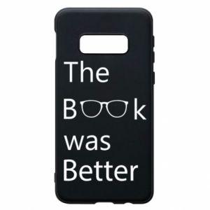 Etui na Samsung S10e The book was better