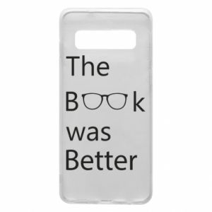 Etui na Samsung S10 The book was better