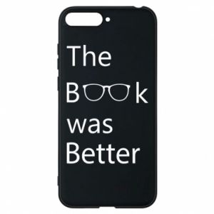 Etui na Huawei Y6 2018 The book was better