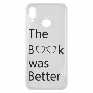 Etui na Huawei P Smart Plus The book was better