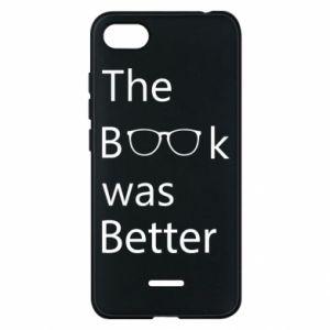Etui na Xiaomi Redmi 6A The book was better