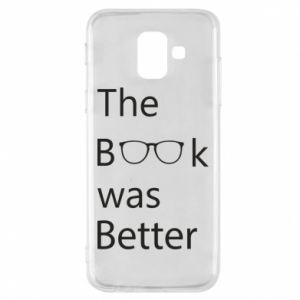 Etui na Samsung A6 2018 The book was better