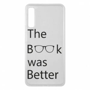 Etui na Samsung A7 2018 The book was better