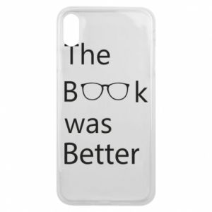 Etui na iPhone Xs Max The book was better